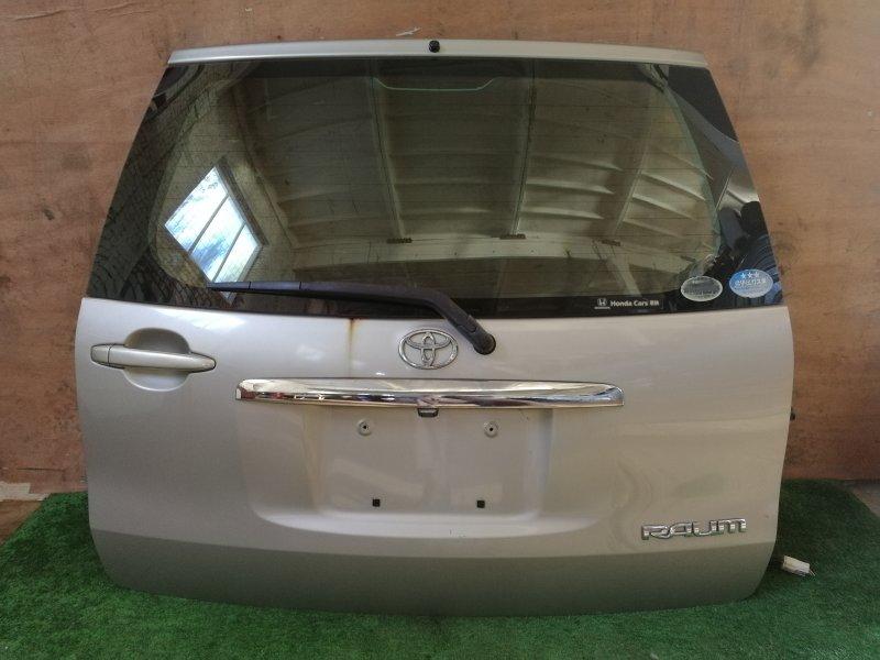 Дверь багажника Toyota Raum NCP20 задняя (б/у)