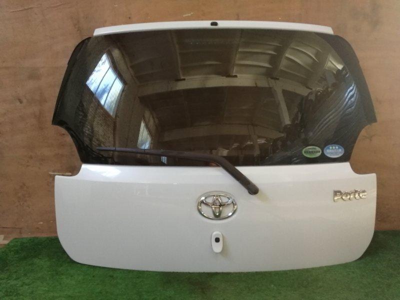 Дверь багажника Toyota Porte NNP10 задняя (б/у)