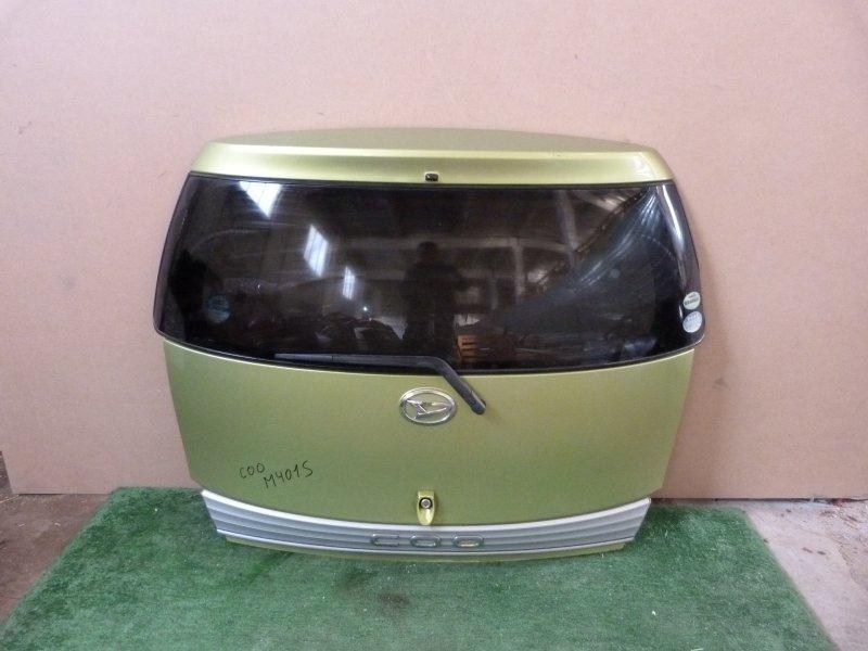 Дверь багажника Daihatsu Coo M401S задняя (б/у)