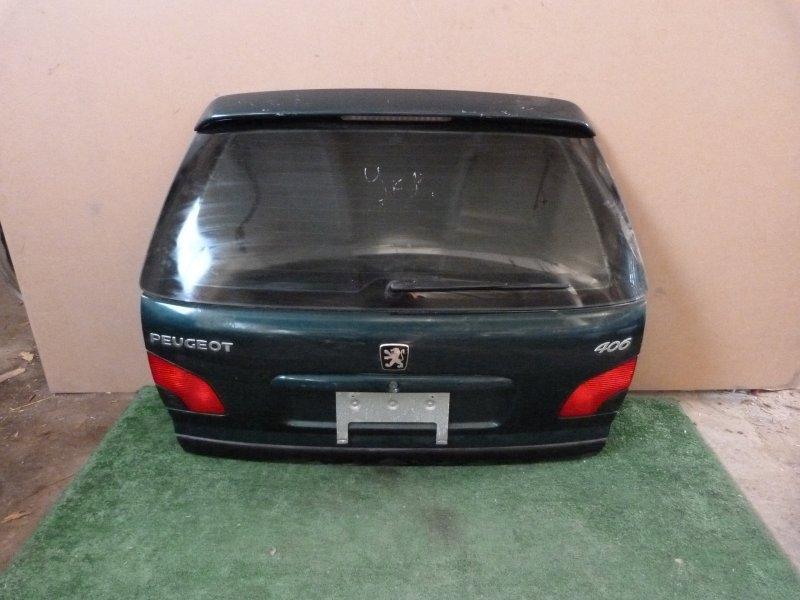 Дверь багажника Peugeot 406 задняя (б/у)
