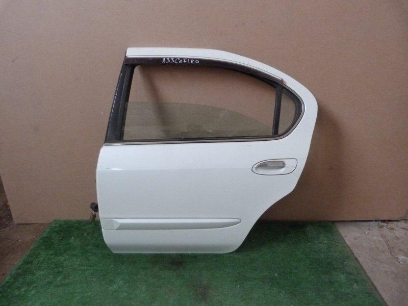 Дверь Nissan Cefiro A33 задняя левая (б/у)
