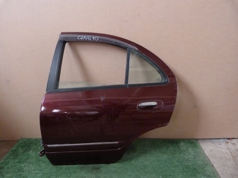 Дверь Nissan Bluebird Sylphy QNG10 задняя левая (б/у)