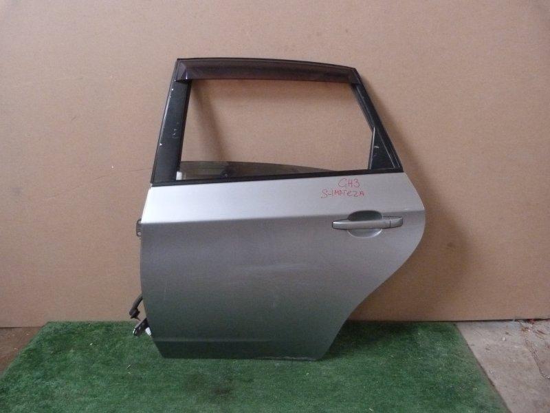 Дверь Subaru Impreza GH3 задняя левая (б/у)