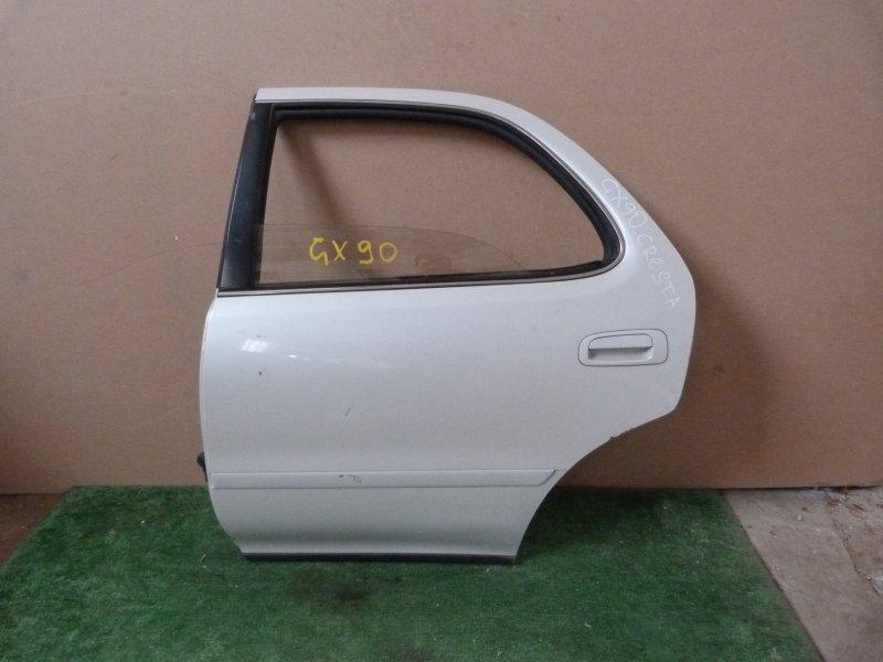 Дверь Toyota Cresta GX90 задняя левая (б/у)