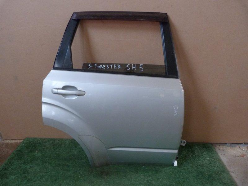Дверь Subaru Forester SH5 задняя правая (б/у)