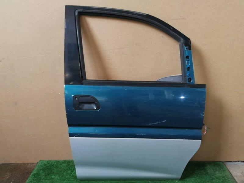 Дверь Mitsubishi Delica PE8W передняя правая (б/у)