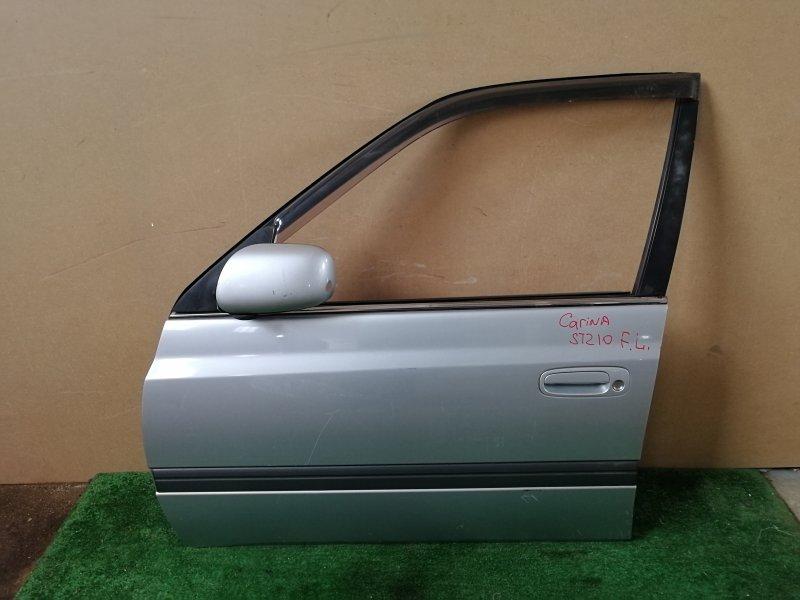 Дверь Toyota Carina ST210 передняя левая (б/у)