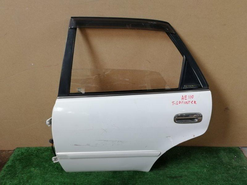 Дверь Toyota Sprinter AE110 задняя левая (б/у)