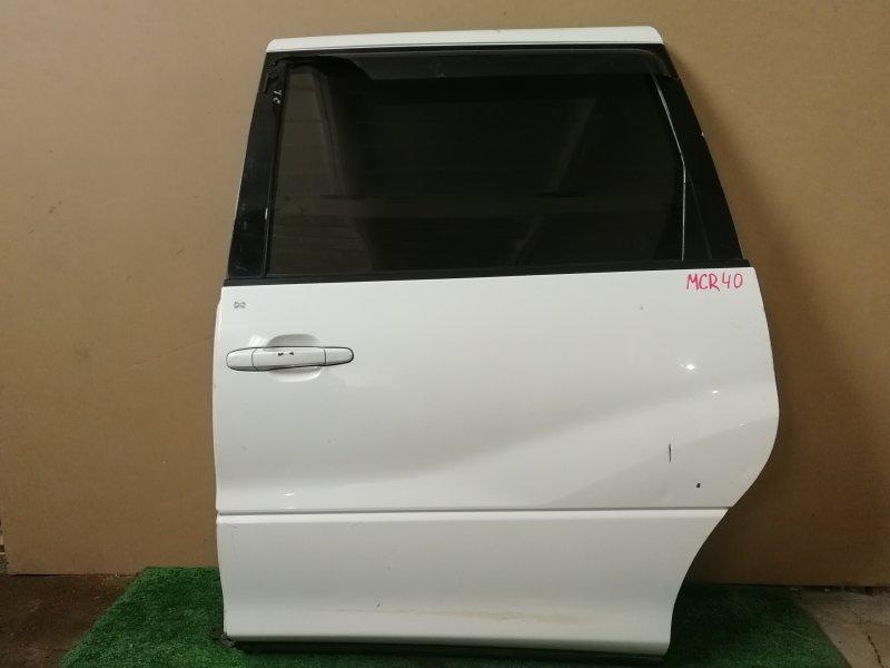 Дверь Toyota Estima MCR40 задняя левая (б/у)