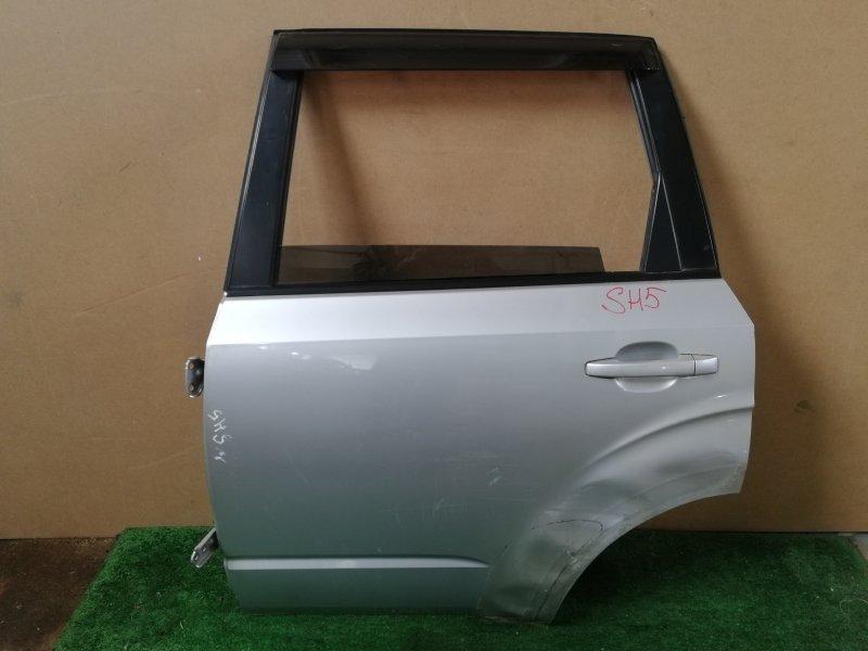 Дверь Subaru Forester SH5 задняя левая (б/у)