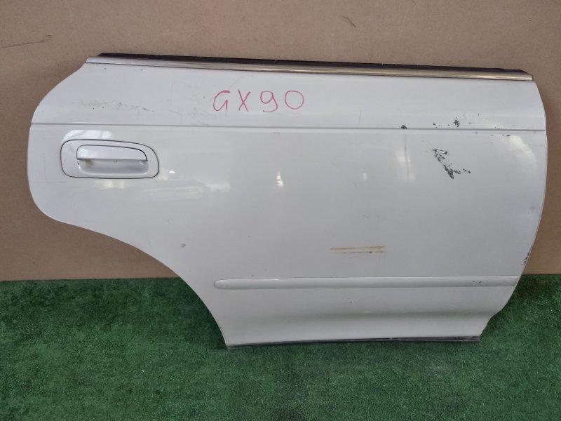 Дверь Toyota Mark Ii GX90 задняя правая (б/у)