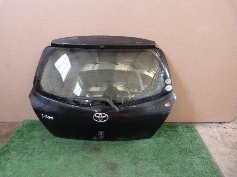 Дверь багажника Toyota Vitz KSP90 задняя (б/у)