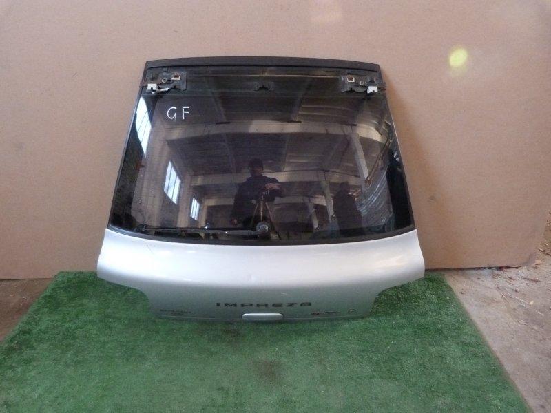 Дверь багажника Subaru Impreza GF2 задняя (б/у)