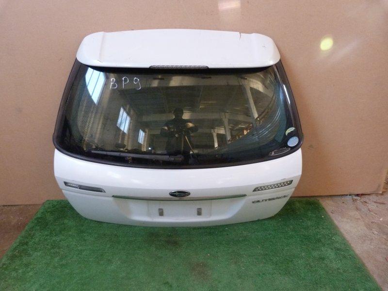 Дверь багажника Subaru Outback BP9 задняя (б/у)