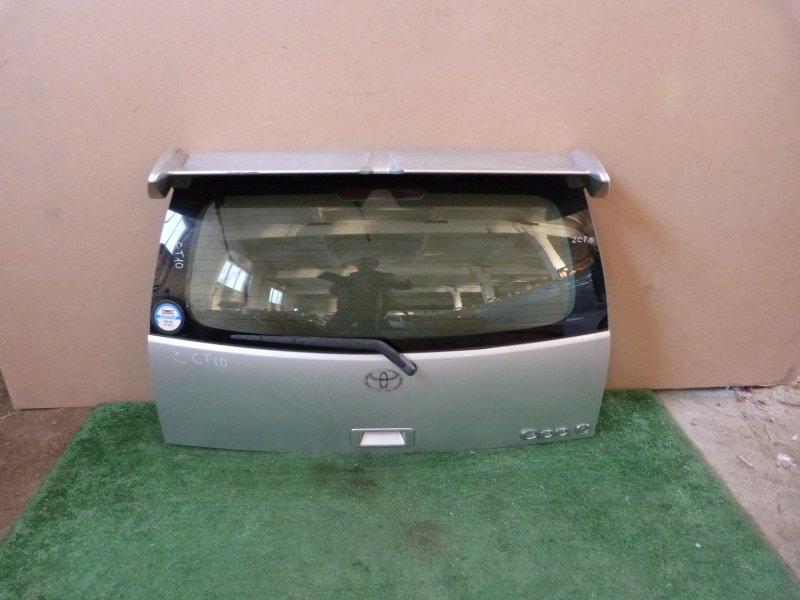 Дверь багажника Toyota Opa ZCT10 задняя (б/у)