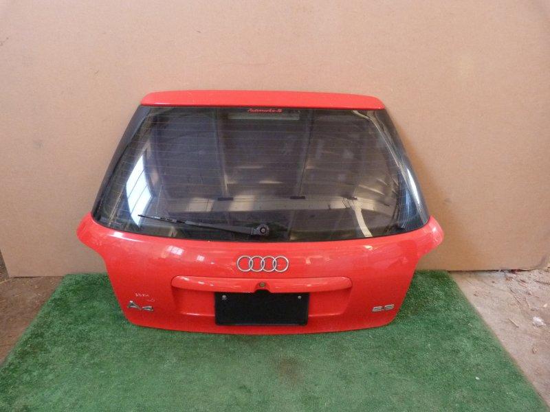 Дверь багажника Audi A4 2.6 задняя (б/у)