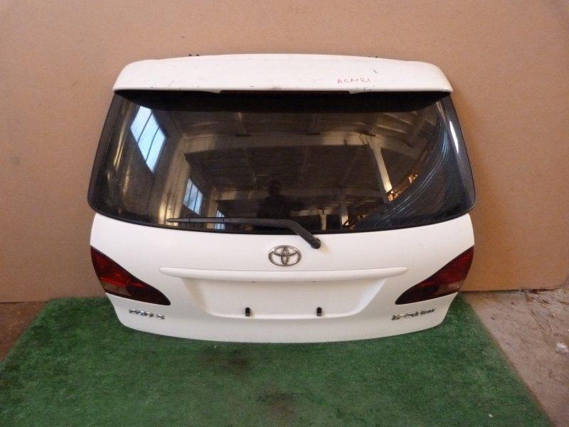Дверь багажника Toyota Ipsum ACM21 задняя (б/у)