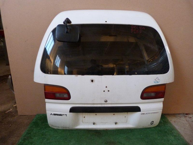 Дверь багажника Mitsubishi Delica PD5V задняя (б/у)