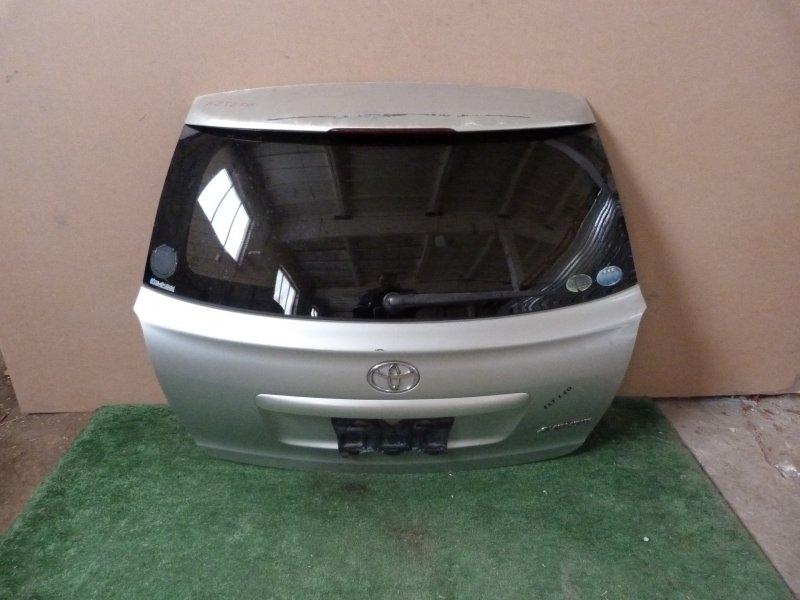 Дверь багажника Toyota Avensis AZT250 задняя (б/у)