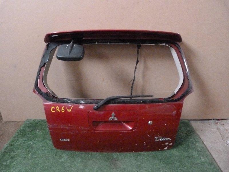 Дверь багажника Mitsubishi Dion CR6W задняя (б/у)