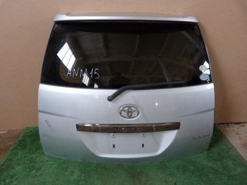 Дверь багажника Toyota Isis ANM15 задняя (б/у)