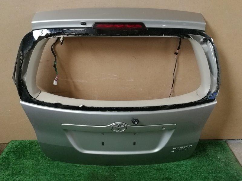 Дверь багажника Toyota Corolla Spacio ZZE124 задняя (б/у)