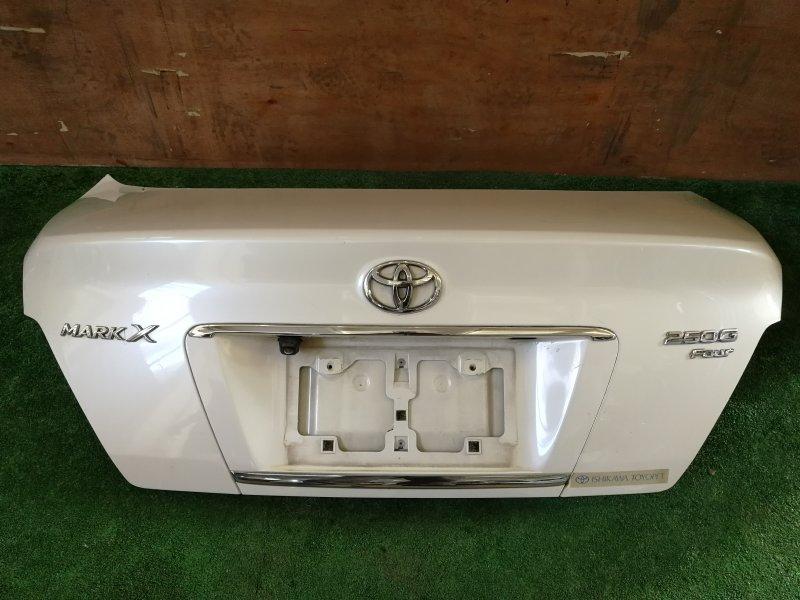 Крышка багажника Toyota Mark X GRX125 (б/у)