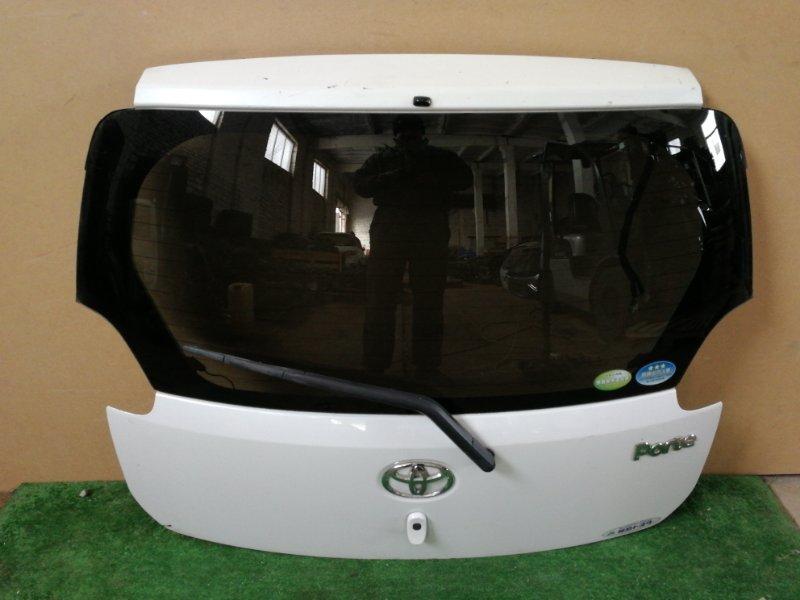Дверь багажника Toyota Porte NNP10 (б/у)
