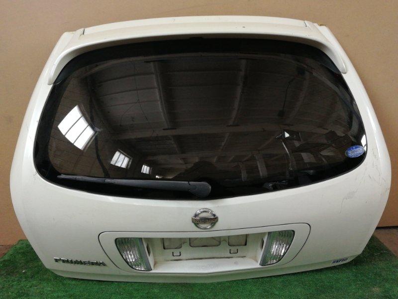 Дверь багажника Nissan Primera P12 (б/у)