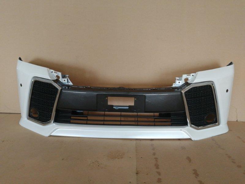 Бампер Toyota Vellfire AGH30 передний (б/у)