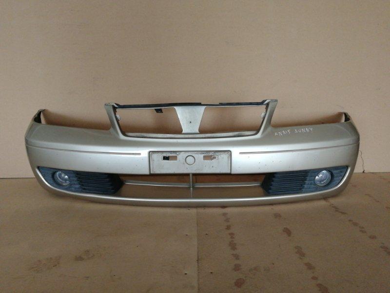 Бампер Nissan Sunny B15 передний (б/у)