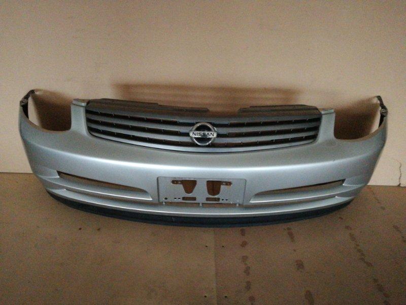 Бампер Nissan Skyline V35 передний (б/у)