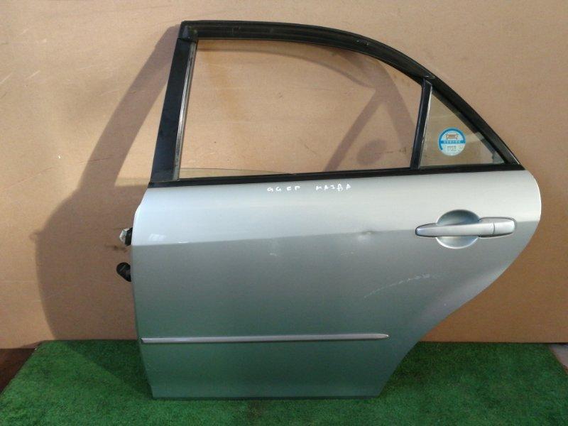 Дверь Mazda 6 GGEP задняя левая (б/у)