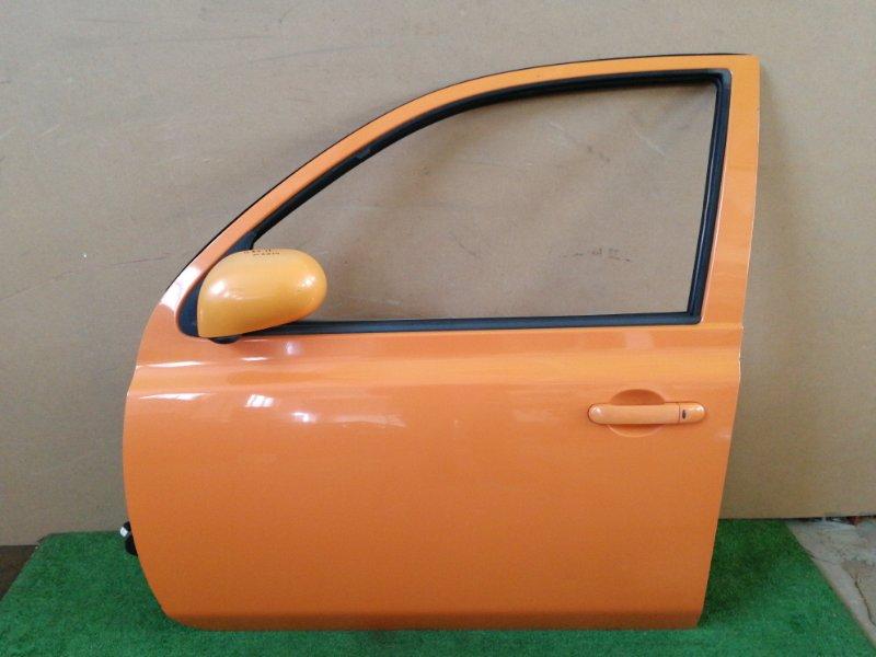 Дверь Nissan March BNK12-102258 CR14 передняя левая (б/у)