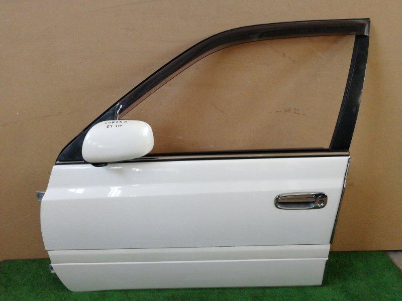 Дверь Toyota Corona Premio ST210 передняя левая (б/у)
