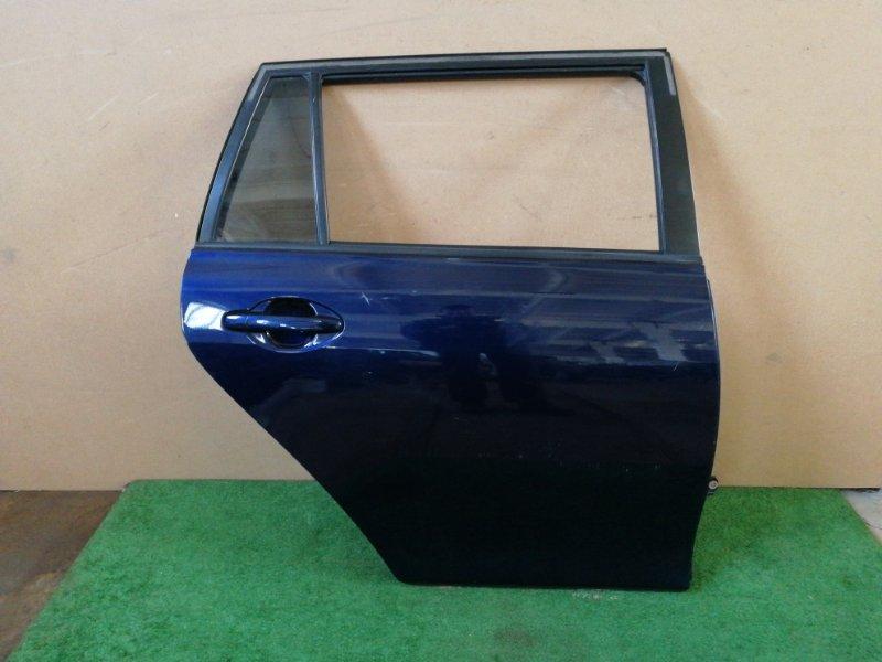 Дверь Toyota Corolla Fielder ZZE122 задняя правая (б/у)