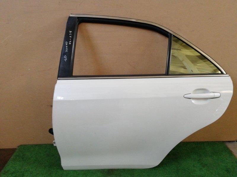Дверь Toyota Camry ACV40 задняя левая (б/у)