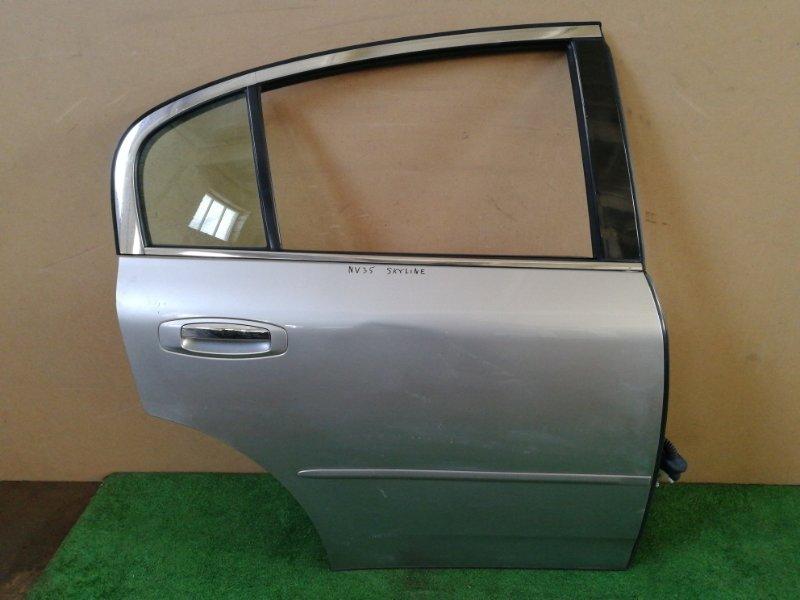 Дверь Nissan Skyline V35 задняя правая (б/у)