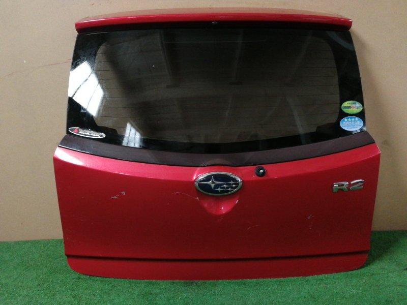 Дверь багажника Subaru R2 RC1 (б/у)