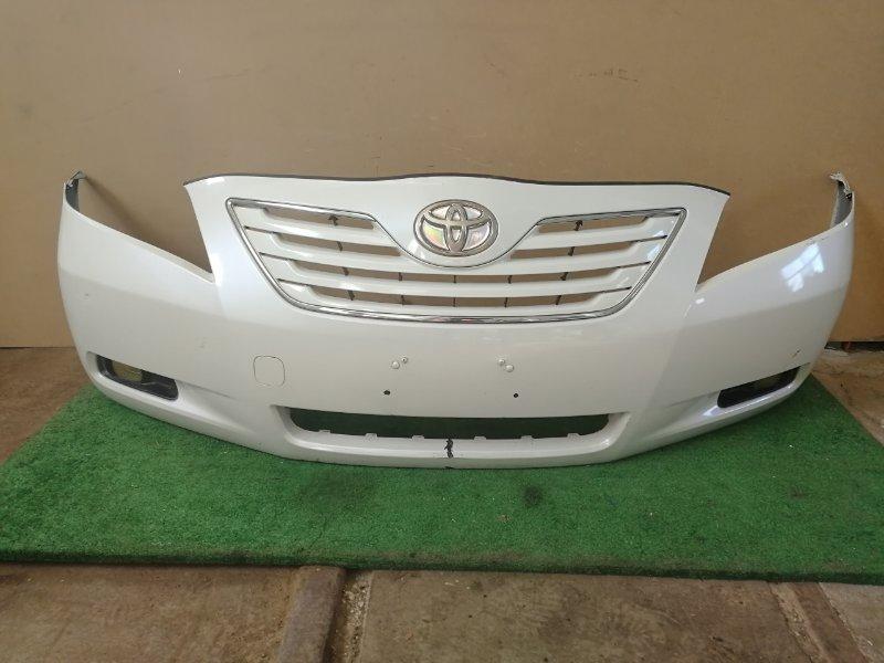 Бампер Toyota Camry ACV40 2007 передний (б/у)