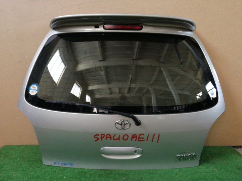 Дверь багажника Toyota Corolla Spacio AE111 (б/у)