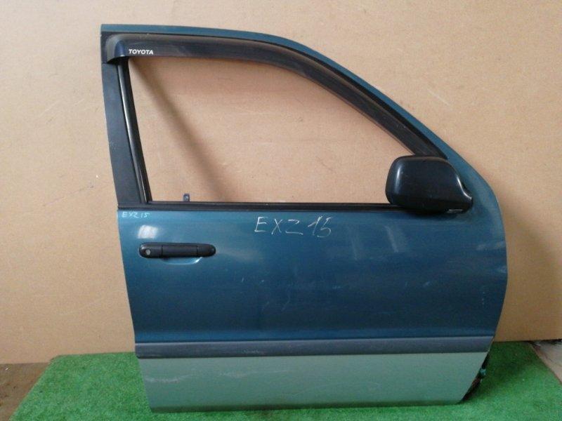 Дверь Toyota Raum EXZ10 5E-FE передняя правая (б/у)