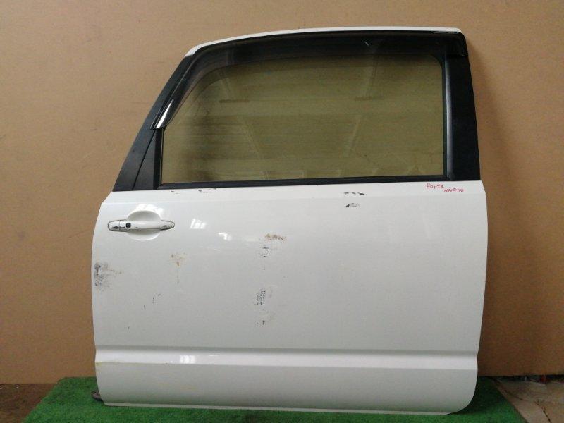 Дверь Toyota Porte NNP10 левая (б/у)