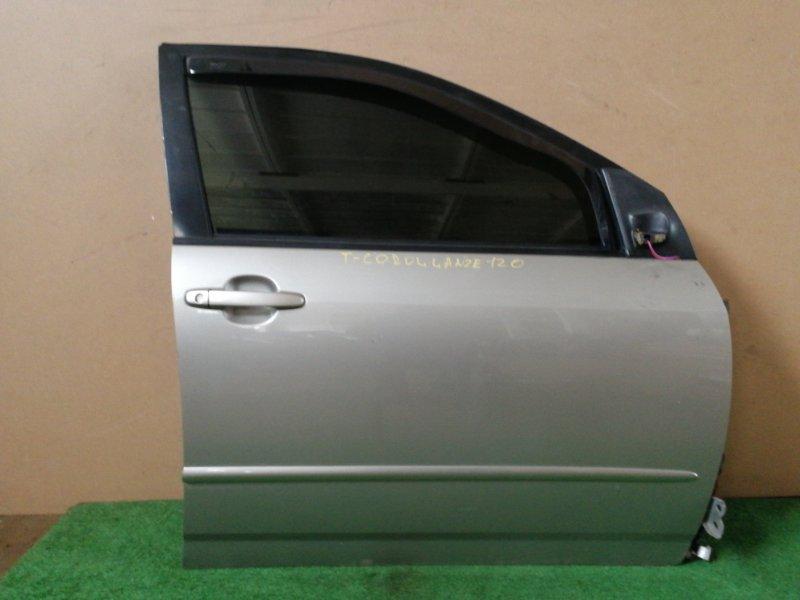 Дверь Toyota Corolla NZE120 передняя правая (б/у)