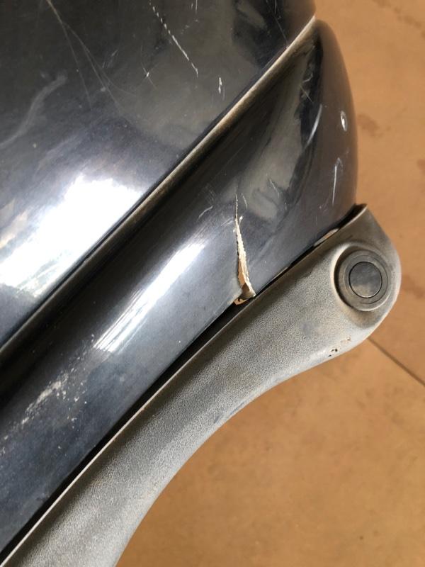 Бампер Jaguar X-Type задний (б/у)
