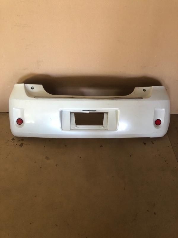 Бампер Toyota Porte NNP10 задний (б/у)