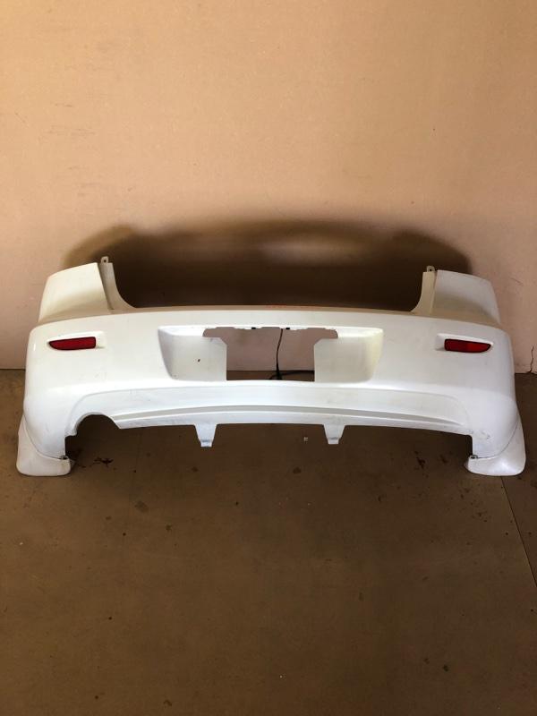 Бампер Mazda Axela BK5P задний (б/у)