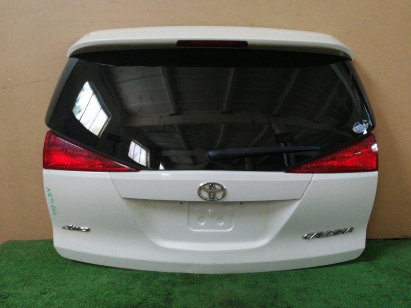 Крышка багажника Toyota Caldina AZT246 (б/у)