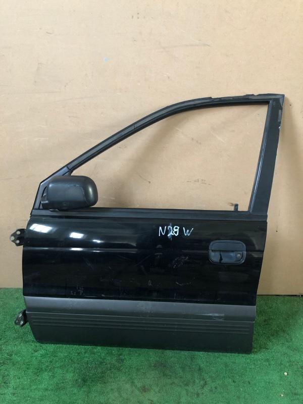 Дверь Mitsubishi Chariot N28W левая (б/у)