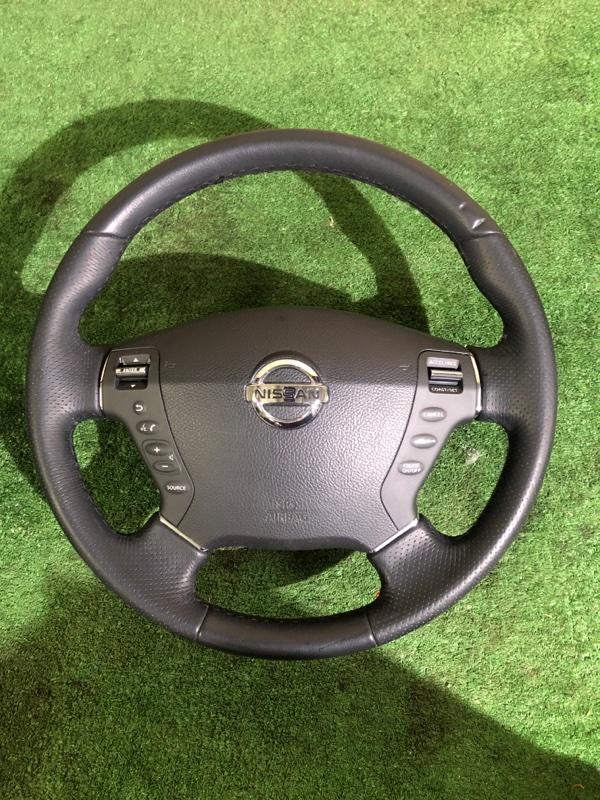 Руль Nissan Fuga Y50 VQ35 (б/у)
